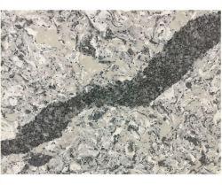 الحجر الكالاكاتا الكوارتز الصناعي الشفاف أبيض/رمادي/أسود/بني حجري للمطبخ/الحمام/الحائط/التجانب