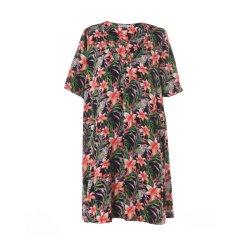 2019 OEM / ODM Conception personnalisée de gros longue robe chemisier Fashion fleur