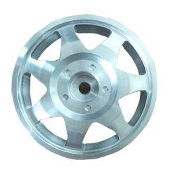 中国メーカーの CNC は RC 自動車用ミニ 2 インチアルミホイールを加工しました