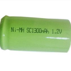 La taille de Sc Ni-MH 1300mAh 1,2V OEM de gros sous C des batteries de jouets électroniques