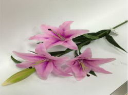 Toque naturales Flores artificiales de Tiger Lily 787563-1