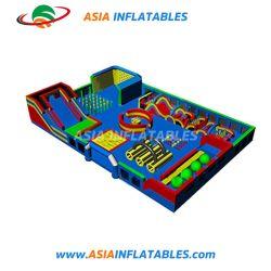 ملعب للأطفال داخلي ذو عووق مطاطي من قبل OEM سعر حديقة ألعاب