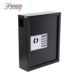China-Berufshochleistungssichere Kasten-Wand-Schlüsselmontierungs-Schlüsselschrank mit elektronischem Verschluss-Stahl-Aufbau