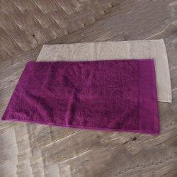 100% coton serviette super absorbants pour l'eau de Javel de gros de la preuve Salon de Coiffure