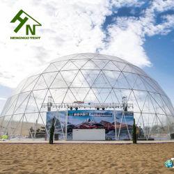 Cubas de aço galvanizado de plástico claro Super Round Tendas Dome