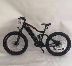 Моды Style MTB полной приостановки жир E велосипед 1000W Bafang 48В СЕРЕДИНЕ диска 48V 16AH LG литиевой батареей