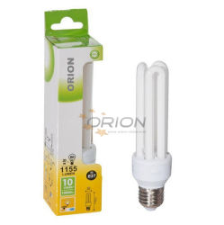 Alto brillo T3 T4 15W 20W 25W 3u 30W de luz fluorescente compacto