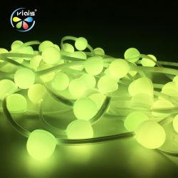 Cor de iluminação decorativa executando SMD5050 tira RGB LED coloridos