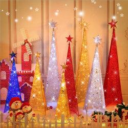 De kunst-Blik van het LEIDENE Ijzer van de Kerstboom de Decoratie van de Vakantie