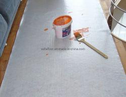 Het witte Kleverige Gevoelde het Schilderen van de Mat van de Vloer van de Mat van pvc van de Bevloering van het Blad van het Tapijt van de Vloer van de Mat van de Vloer Rubber Schilderen van de Vacht verhindert het Meubilair van de Vloer van de Vlek van de Vloeistoffen van de Deklaag van de Verf
