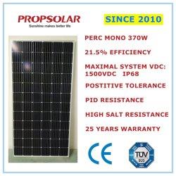 高性能のホーム太陽エネルギーシステムモノラル太陽電池パネル370W