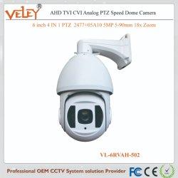 Top 10 Câmaras CCTV de vídeo de 5 megapixeis com PTZ impermeável de infravermelho
