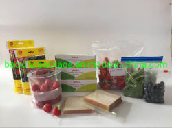 Удалите с герметичными застежками морозильник Ziplock LDPE многоразовые сумки/Многоразовый мешок для упаковки продуктов питания