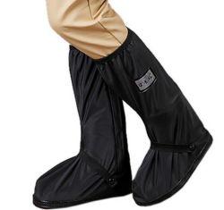 Moda grossista PVC impermeável de protecções para sapatos