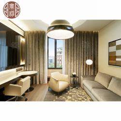 Direct Appartement de gros de meubles avec l'usine de contreplaqué de bois solide solide ensemble en cuir