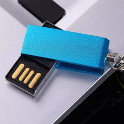 OEM het MiniMetaal USB Pendrive van de Capaciteit van de Stok van het Metaal USB Echte