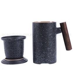 OEM 500 мл необработанных черный керамикой управление фильтр для приготовления чая и наружное кольцо подшипника