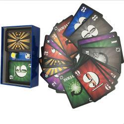 Tarjetas de juego de adultos personalizado para el Bar de vinos o juegos de mesa Club