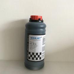 حبر أسود صبغي مائي بأفضل الأسعار طراز Weiejet 601 Aquedous Ink Black Dye حبر لطابعة Cij/طابعة الرموز