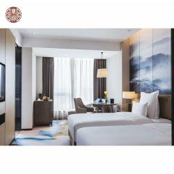 Mobilia poco costosa su ordinazione semplice contemporanea della serie di camera da letto dell'hotel