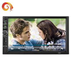 Podofo Autoradio 2 LÄRM 7 Bildschirm-Autoradio Bluetooth Multimedia-Selbstaudiostereospiegel-Link-Autoradio des Zoll-7880touch und Video Auto-Spieler