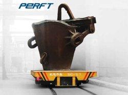 fornitore di automobile d'acciaio di trasferimento della guida della siviera della piattaforma piana di potere del cavo 1-300t