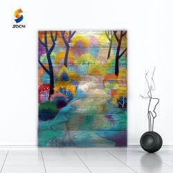 Pinturas decorativas artesanais personalizados para a recolha/Loja