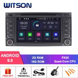 Witson Android 9.0 Voiture Lecteur Vidéo pour VW Touareg Multivan T5 Transporteur radio du véhicule multimédia GPS