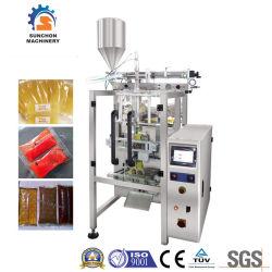 3/4つの側面のシールの磨き粉の液体のケチャップのトマトソースの包装機械