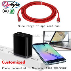 USB 케이블 데이터 케이블 이동 전화 부속품 이동 전화 부속 셀룰라 전화 부속품