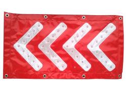 Blinkende Warnleuchte /Sign des Verkehrssicherheit-Richtungspfeil-LED