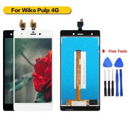 Оптовая торговля Pantalla ЖК сенсорный экран для мякоти Wiko 4G ЖК-дисплей в сборе