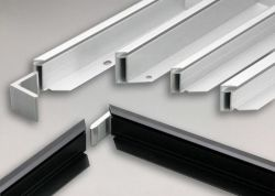 Solar-PV-Produkt-Elektrophorese-industrielle Aluminiumprofil-Legierung 6005 mit Ausschnitt