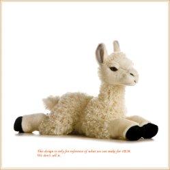 Plushy Alpaca Doll 사랑스러운 동물 장난감 플러쉬 완구 OEM