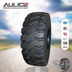 Excellente qualité Aulice OTR pneus 13.00-25 E-3 avec de superbes anti-crevaison, d'usure de la résistance et la fissure résistance.