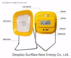 Travando/prático/Portable Home-Use Luz Solar/Lantern/Luz com 3W levou e USB