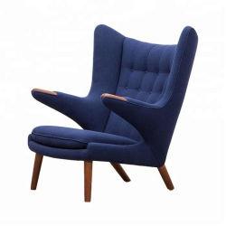 Fabric Lounge Papa Bear Chair Con Mobili Ottomano Da Sedia Wingback