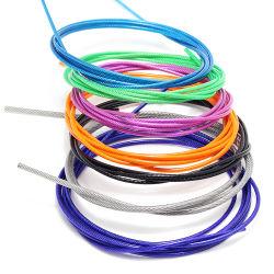 電流を通された鋼線ロープ、PVCはロープワイヤーに塗った
