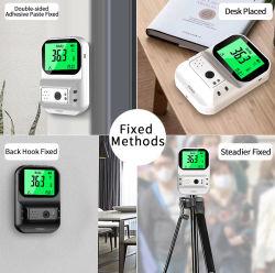 K3 Termómetro de infravermelhos sem contato, Contador inteligente, Câmara de medição de temperatura, termómetro de câmara de controle de acesso