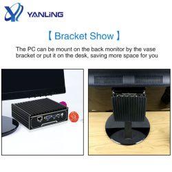 أفضل سعر الكمبيوتر الشخصي الصغير 4 شبكة محلية LAN بدون مروحة جدار حماية PfsSense 4 منافذ Ethernet كمبيوتر شخصي صغير