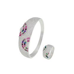 Piedra de silicona de colores creativos Bangle del manguito de los recursos decorativos fábrica