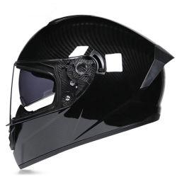 De cara completa de accesorios motocicleta certificado DOT casco de carreras de motos