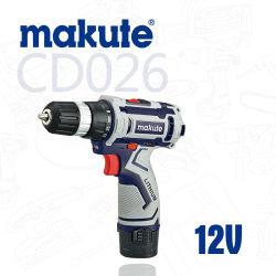 Batteria Lion da 12 V per trapano cordless per utensili elettrici per perforazione manuale Makute