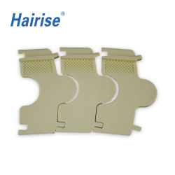 Het Draaien van ISO de Flexibele Hoogste Antislip Transportband van het Latje (HarPT250B)
