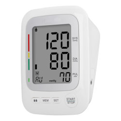 ARM Blood Pressure Monitor by Battery USB or Adaptor(배터리 USB 또는 어댑터를 통한 ARM 혈압 모니터