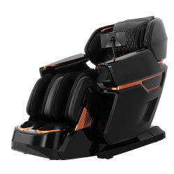 Venda por grosso OEM 3D 4D de Corpo Inteiro Shiatsu cadeira de massagens com Bluetooth