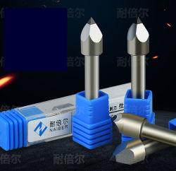 De PDC vier-Gescherpte Hulpmiddelen die van de Steen van de Diamant PCD de Marmeren Grafzerk van Bluestone van het Graniet snijden