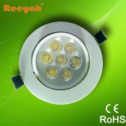 LED de 7 W baixar na luz de tecto LED, IP50 (RY-CL-7W)