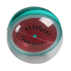 O logotipo personalizado impresso Praia de PVC esfera água insufláveis