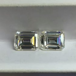 Créé en laboratoire de haute qualité des pierres précieuses de couleur blanche diamant Moissanite Vvsi des pierres pour bijoux